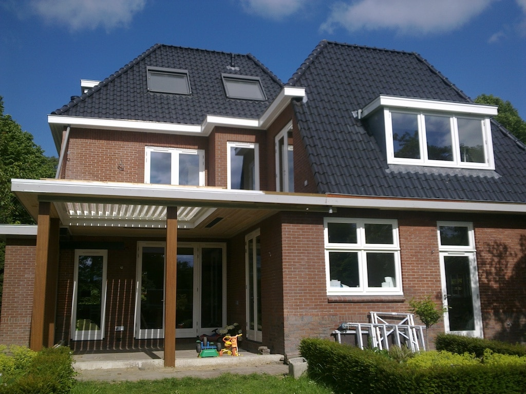 Uitbreiding Aan Huis : Verbouwing uitbreiding er jaren huis bloemendaal architect