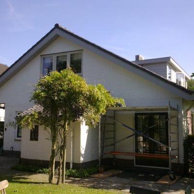 Verbouw jaren vijftig huis Bentveld