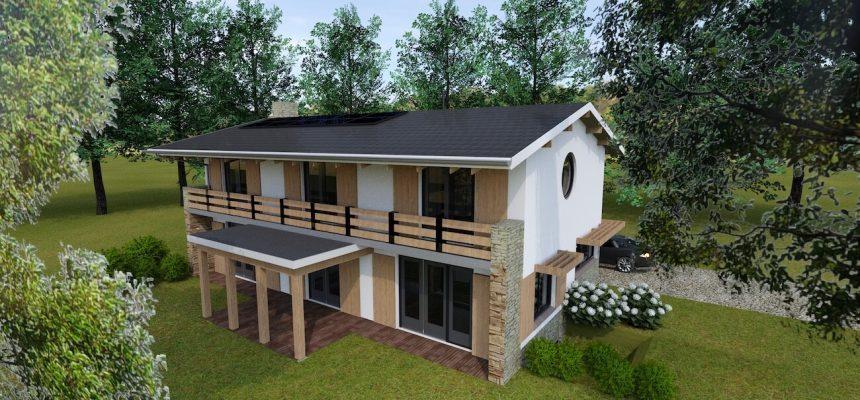 Duurzaam nieuwbouwhuis in Wageningen - een ontwerp van architect Hein Warnaars in Bloemendaal