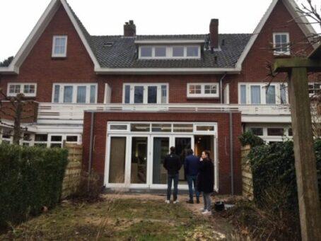 Nieuwe situatie kort na oplevering aanbouw jaren 30 huis - Architect Hein Warnaars