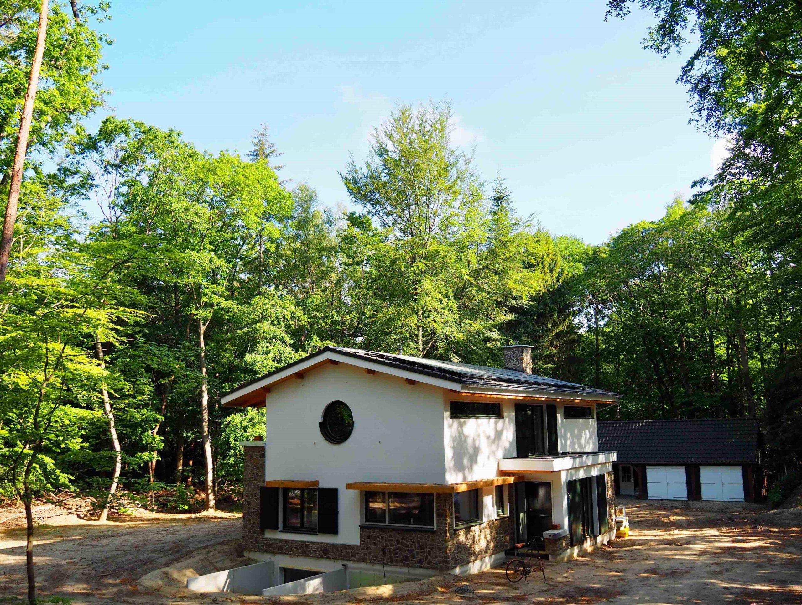 Foto BENG-huis ontworpen door architect Hein Warnaars