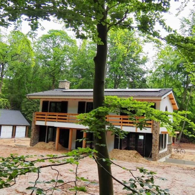 Foto achterzijde BENG-huis ontworpen door architect Hein Warnaars