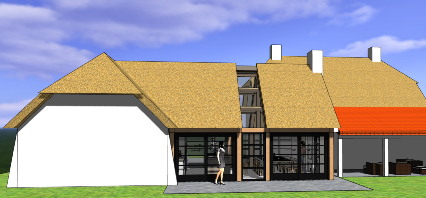 Jaren 50 landhuis in Wageningen-Hoog