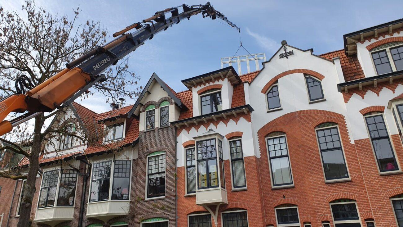 Verbouwing herenhuis Haarlem-Zuid   een ontwerp van architect Warnaars Bloemendaal